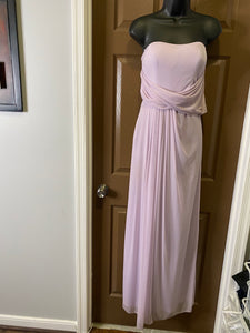 Lavendar Evening Gown w/Side Zipper