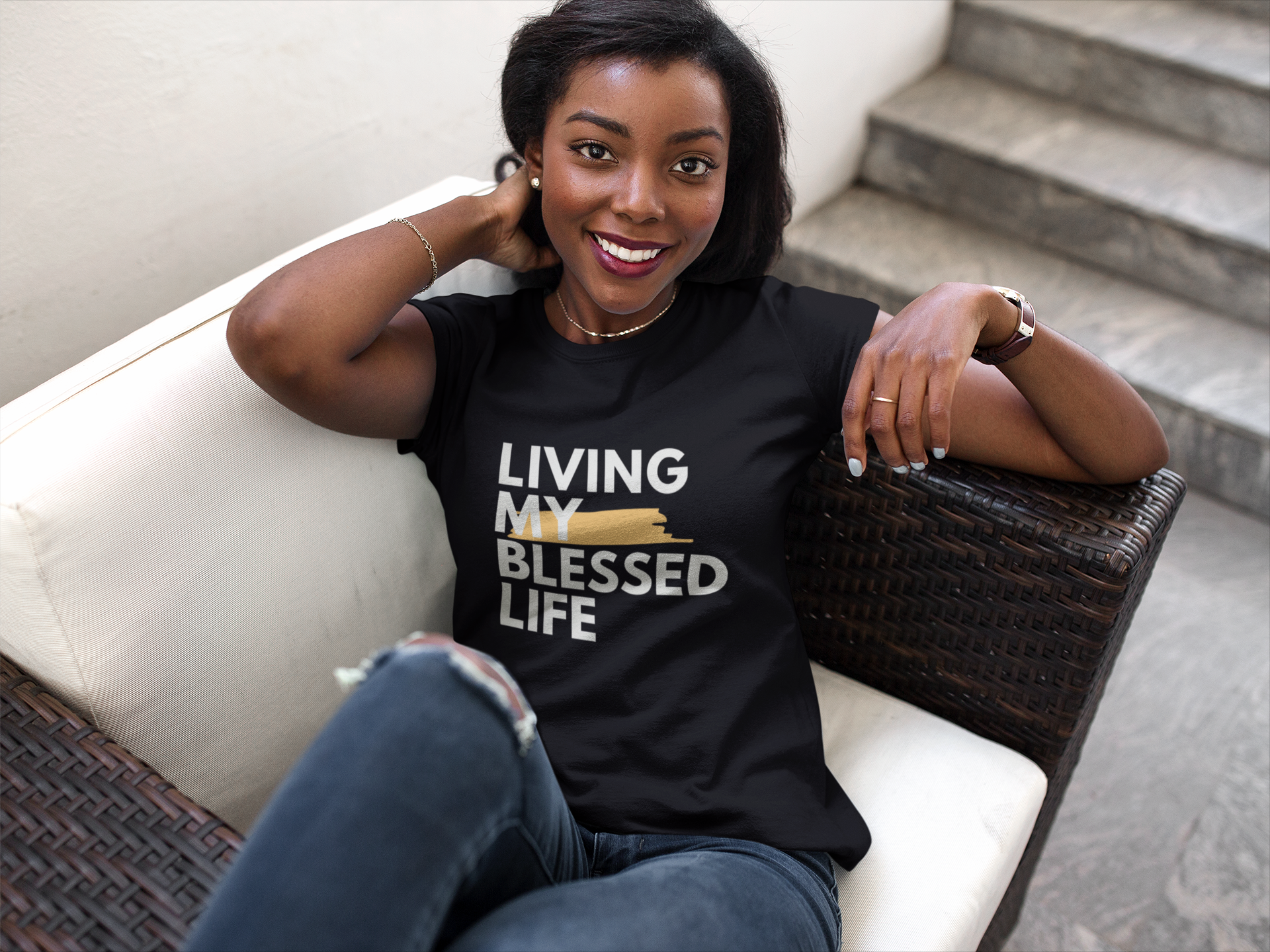 Living My Blessed Life T-Shirt