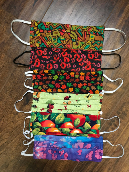Mommy's Assorted Print 3-Layerd Face Masks