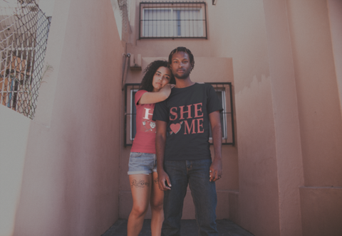 She Loves Me T-shirt