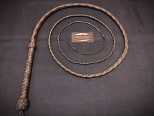 Load image into Gallery viewer, 16 Plait, Traditional Bullwhips