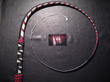 Load image into Gallery viewer, AlphaWhips 28 plait, Sport Series Nylon Paracord Bullwhip, 3 feet long. with Dyneema Fall