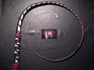 AlphaWhips 28 plait, Sport Series Nylon Paracord Bullwhip, 3 feet long. with Dyneema Fall