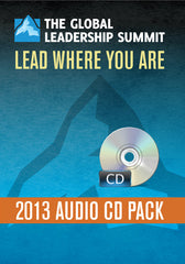The Global Leadership Summit 2013 Audio Bundle on CD