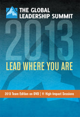 The Global Leadership Summit 2013 Team Edition on DVD
