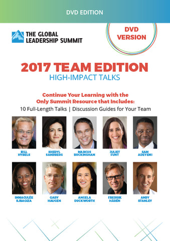 The Global Leadership Summit 2017 Team Edition on DVD