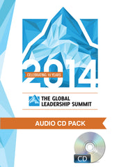 The Global Leadership Summit 2014 Audio Pack on CD
