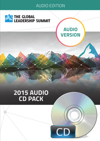 The Global Leadership Summit 2015 Audio Pack on CD