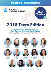 The Global Leadership Summit 2018 Team Edition on DVD
