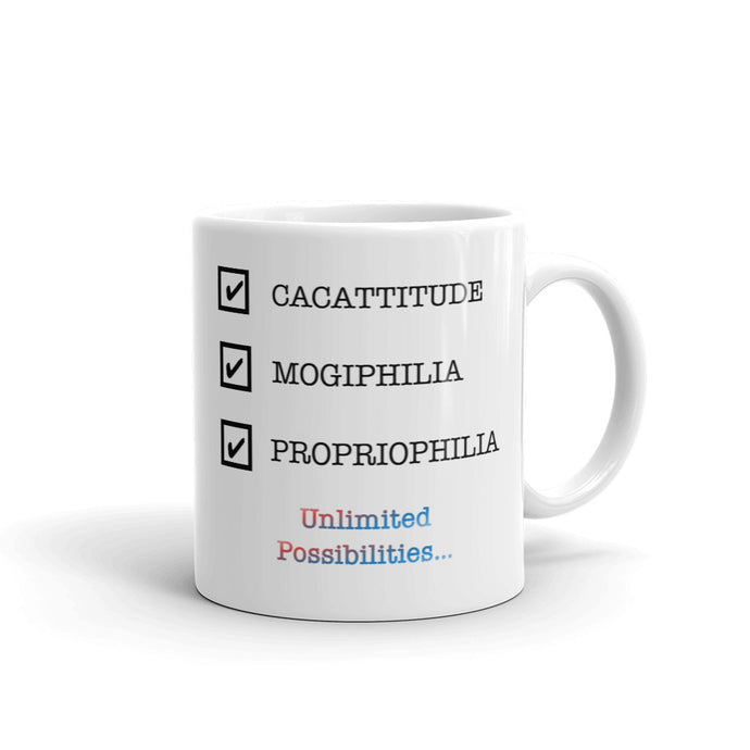Lingomania Unlimited Possibilities Mug