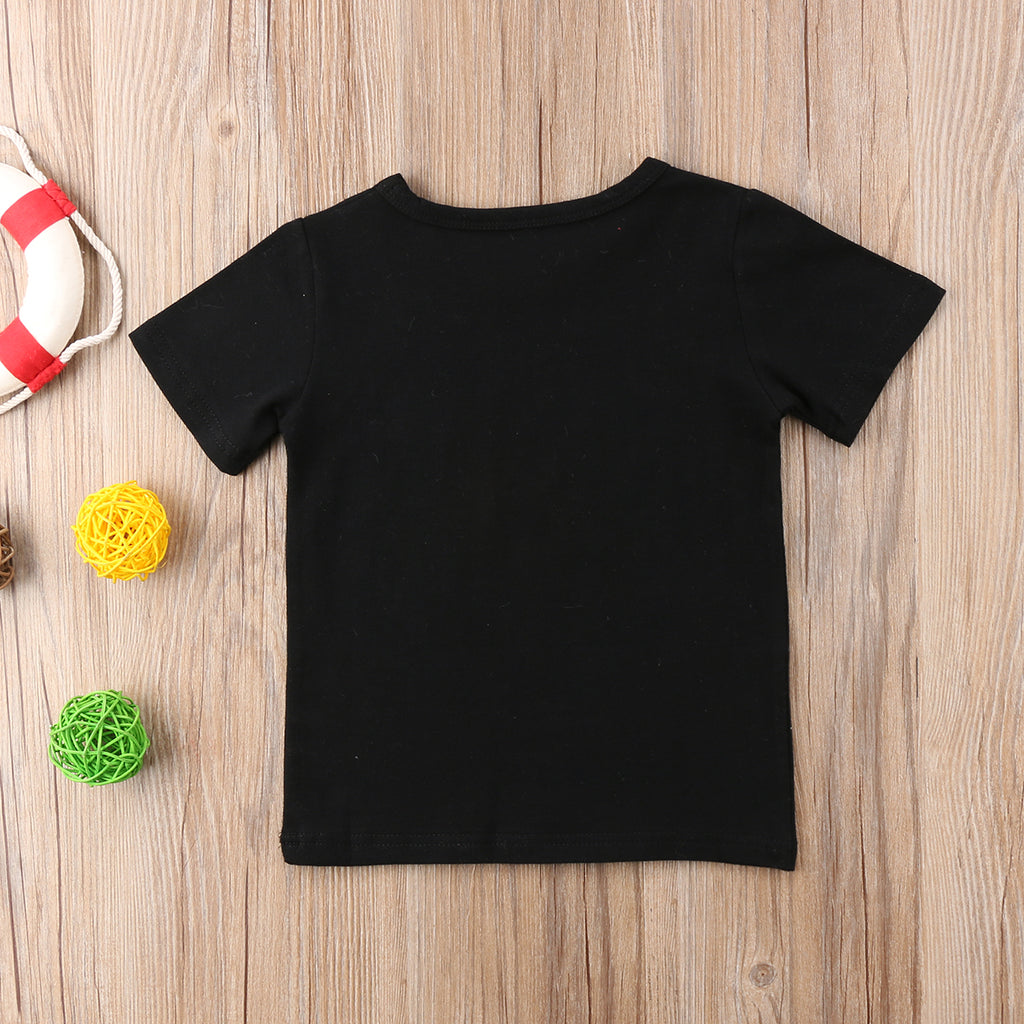 S-324 Casual Cotton Toddler  boy or Girl T Shirts Tops Size 2-6T
