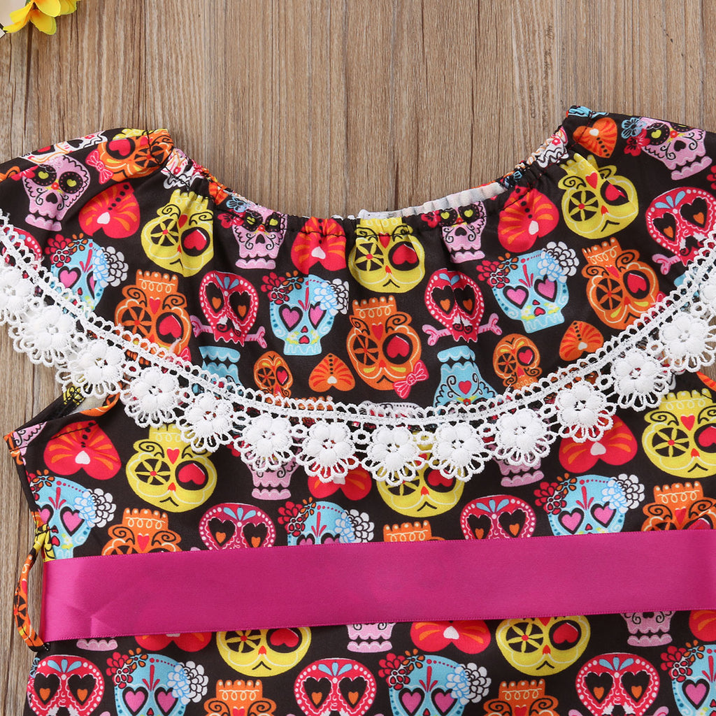 S-155 Baby Toddler Girl Halloween  Size 1-4T