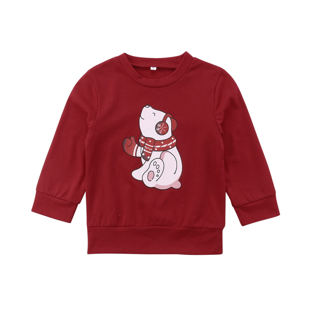 D-847  Christmas Polar Bear Shirt