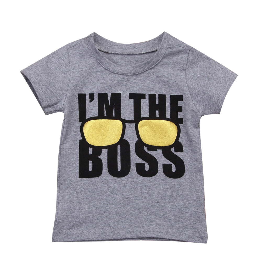 S-1743 Boy's T-shirt Size 2T-6