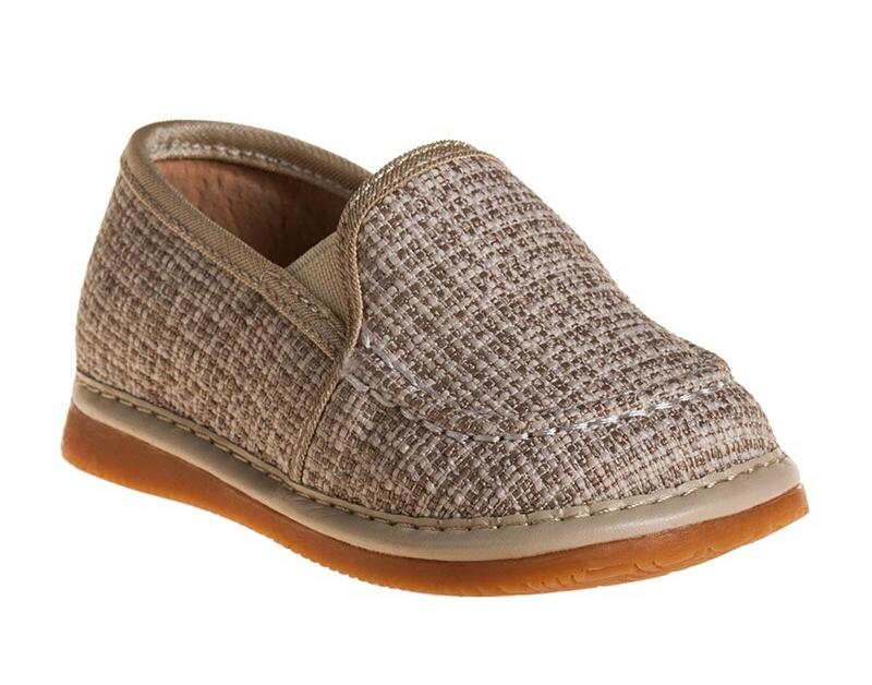 Toddler Boy's  Casual Boat Tweed Style Squeaky Shoes