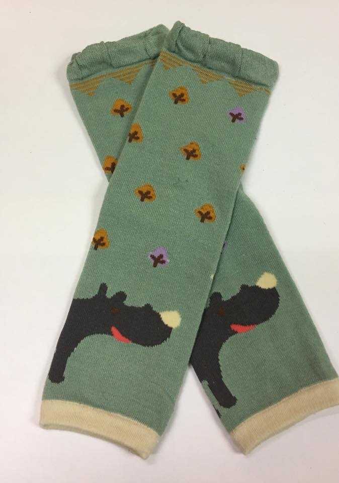 A-30 Green Rhino Leg Warmers