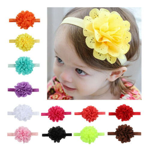 SH-078 Big Bow Flower Headband