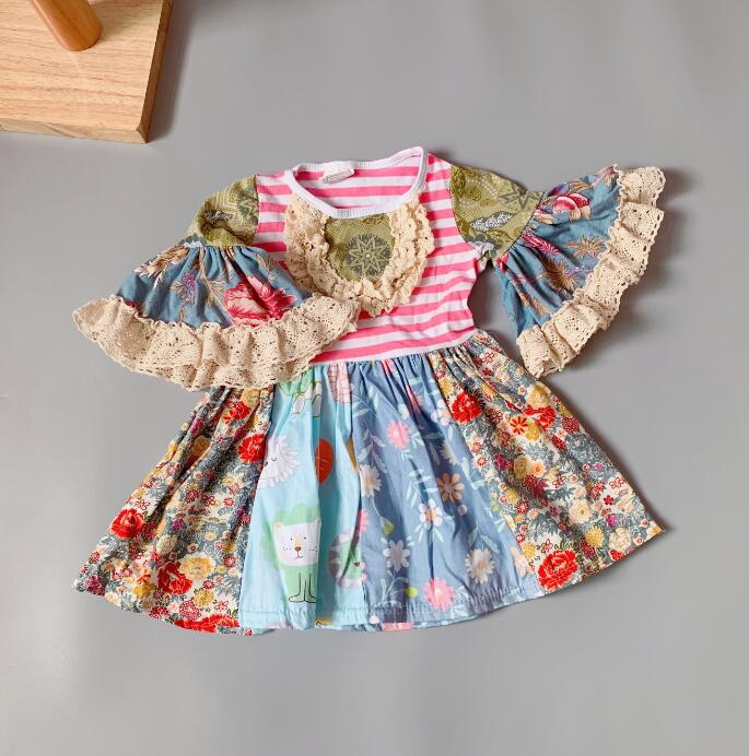 W-1001 Girl's Dress Size 9M and 18M Only