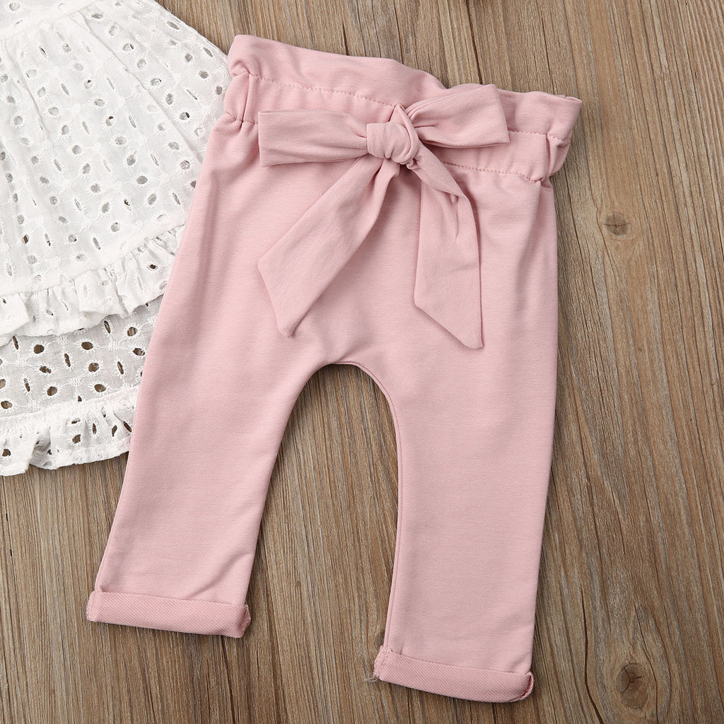 S-2010 Girl's 3 PCS Outfit Size 6M-24M