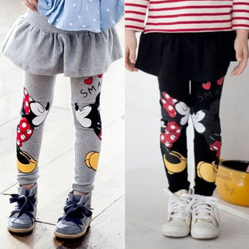 L-1831 Girl's Leggings Size 3T-7T
