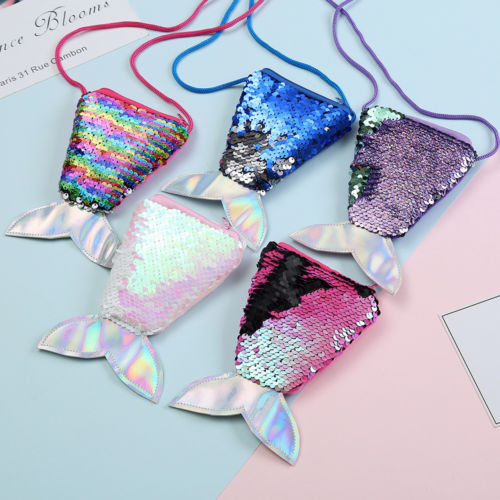 H-007 Mermaid Coin Purse  6 Colors