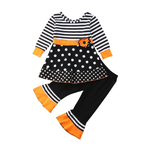 S-180 Girl's 2PCS Outfit Size 2T-6T