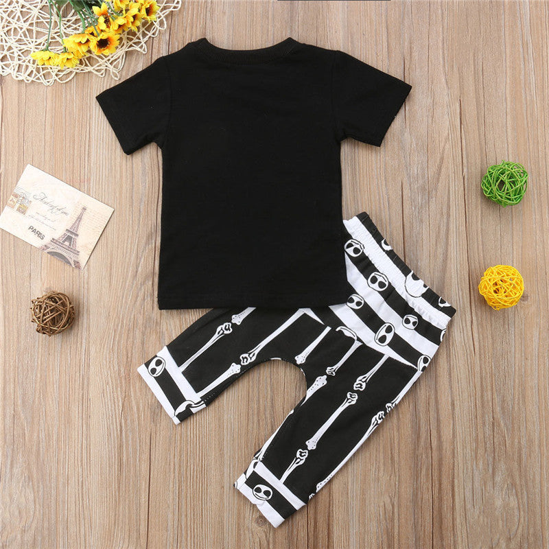S-302 Infant Kids Baby Outfit Set Clothes Size 0-3T