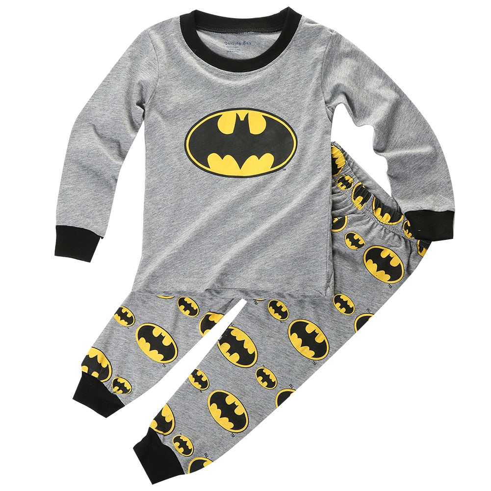 S-1976 Boy's Pajamas Set Size 2T-7
