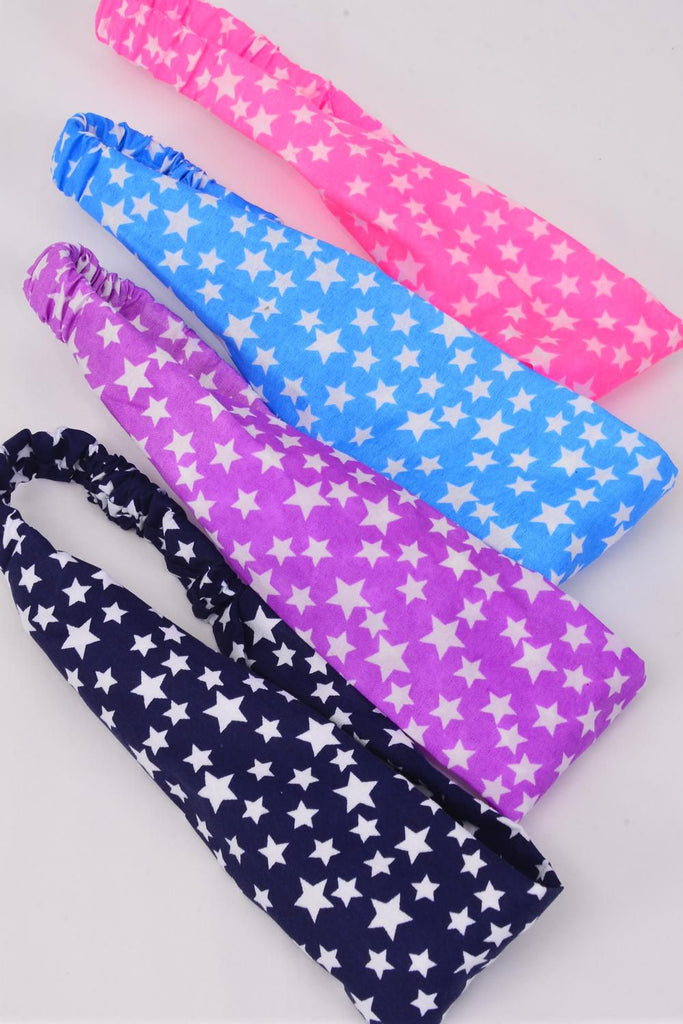 MS-0050 Headband Style Star Fabric Stretch