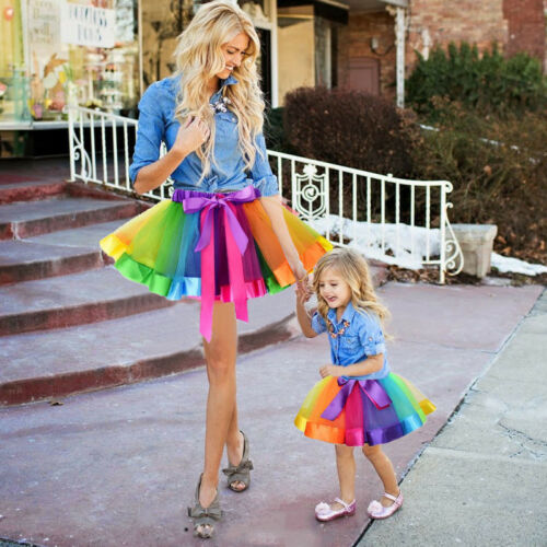 S-1747 Mother and Daughter Matching Tutu Skirt