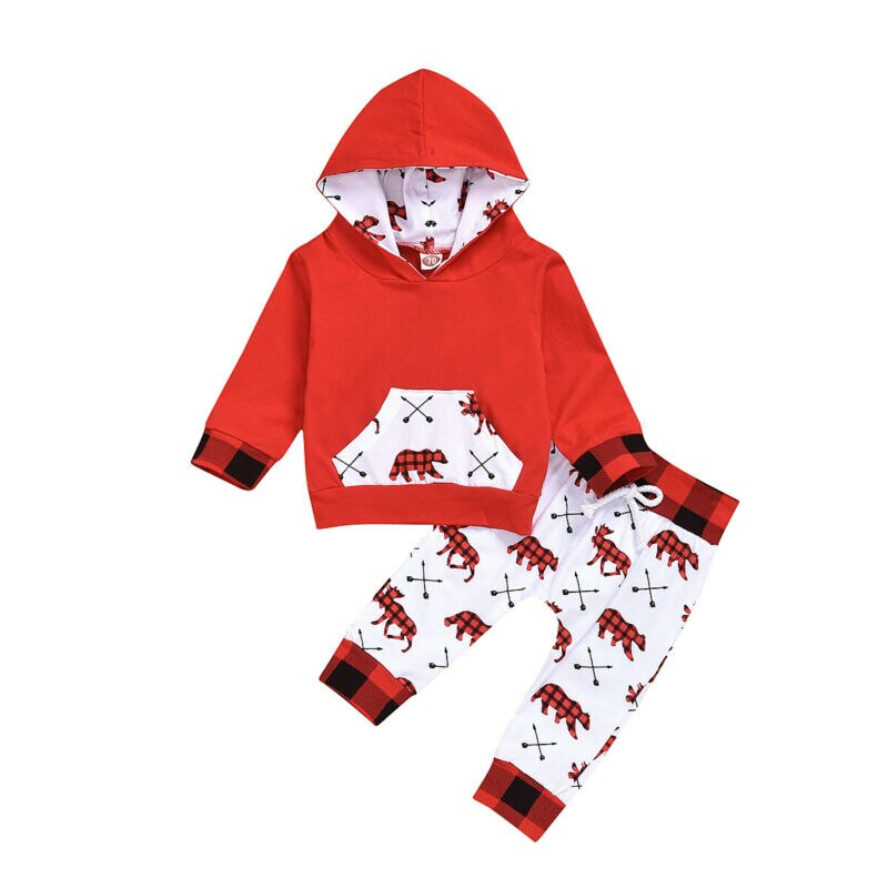 S-1993 Baby Boy or Girl Christmas 2 PCS Outfit Size 6M-18M