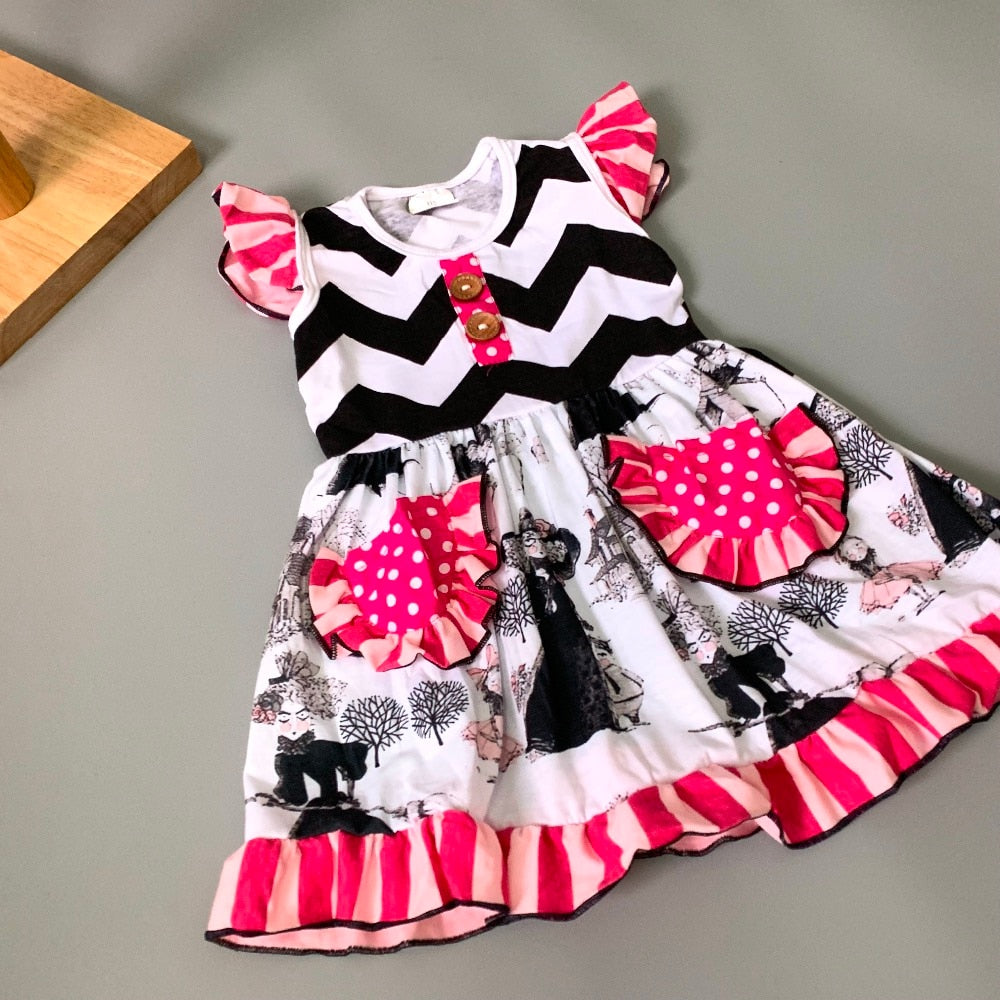 W-1004 Baby Girl's Dress Size 3M, 6M, 9M ONLY