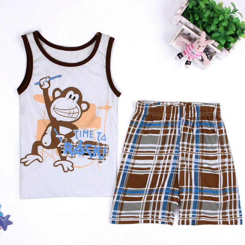 S-1646 Boy's  2PCS Set Size 2T-7