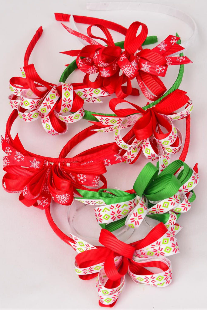 MS-0055 Christmas Headband