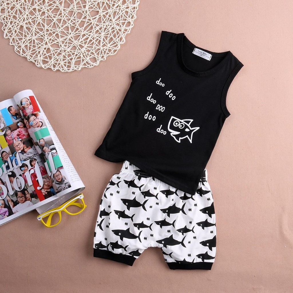 S-1031 Baby Boy's  2 PCS Set Size 6M-24M