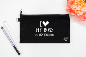 Self Employed Makeup Bag