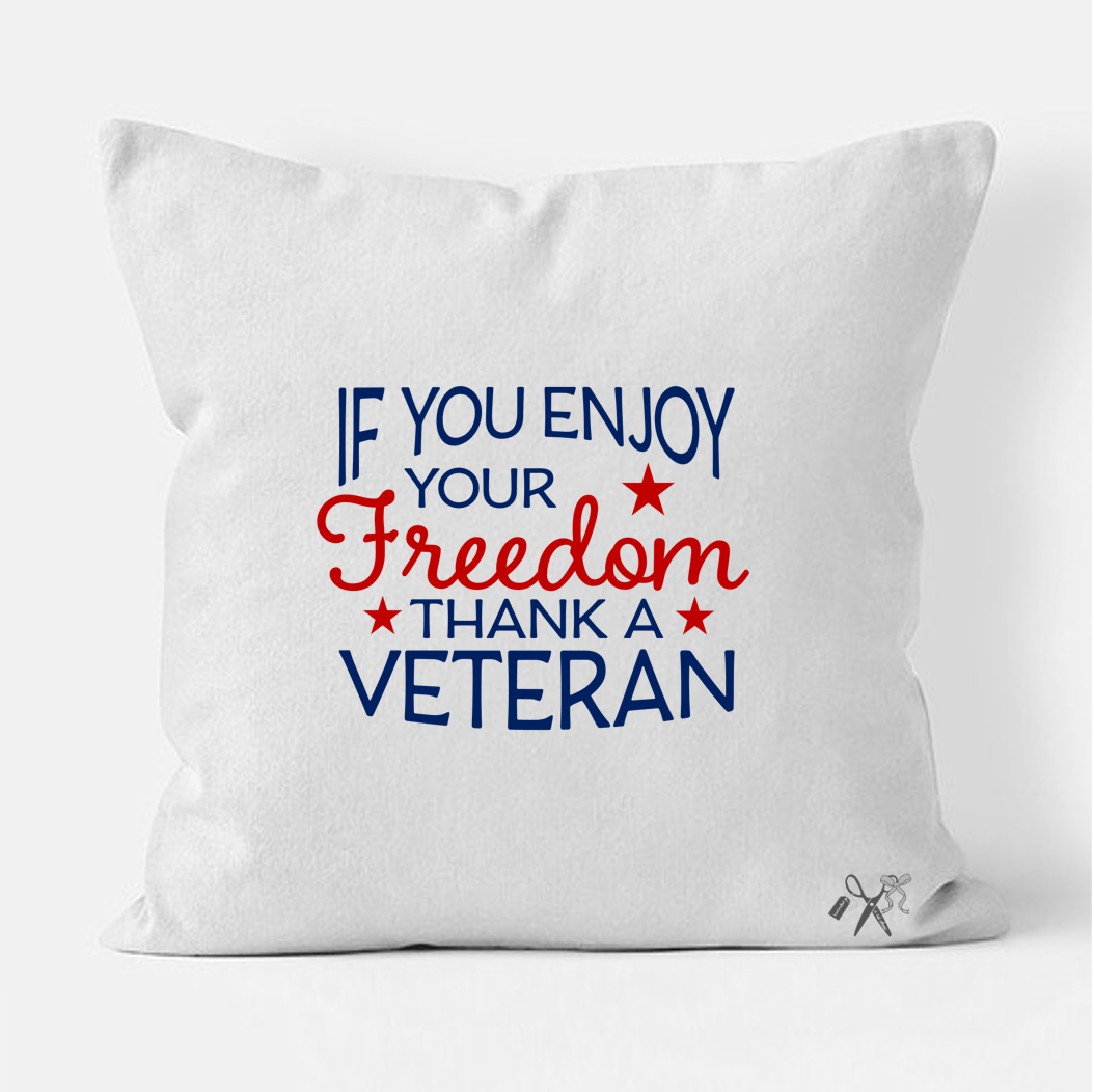 Thank a Vet Pillow Cover