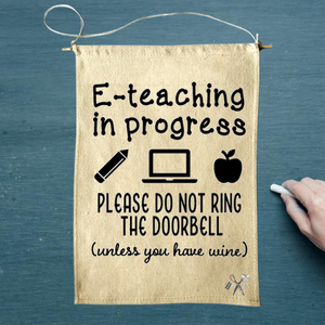 E-teaching Canvas Banner