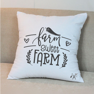Farm Sweet Farm Pillow Cover