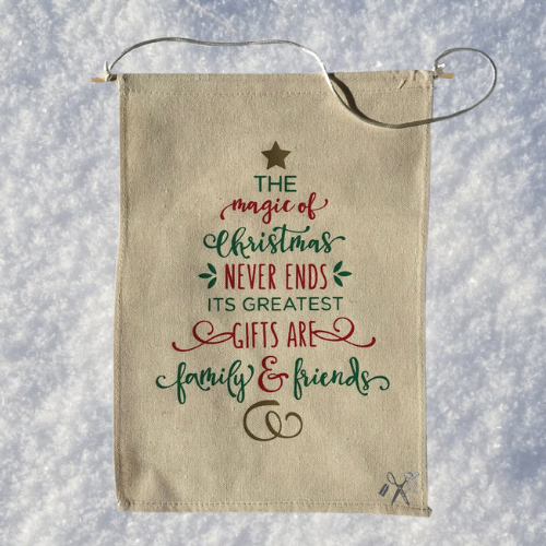 Magic of Christmas Canvas Banner