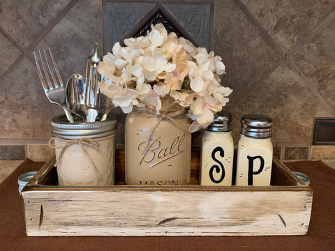 Decor -Tabletop, Mason Jars, Trays