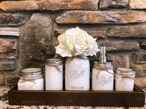 JAR & TRAY DECOR