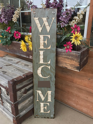 SOUTH DAKOTA STATE Sign  Farm Home Lake or Welcome, Rustic Distressed Wood 50 States Sd - Wooden Hearts Inc