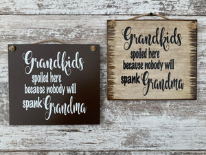 MOM SIGN *My Greatest blessings call me Mom *Distressed Wood Wall Sign * Grandma Mother's Day Gift - Wooden Hearts Inc