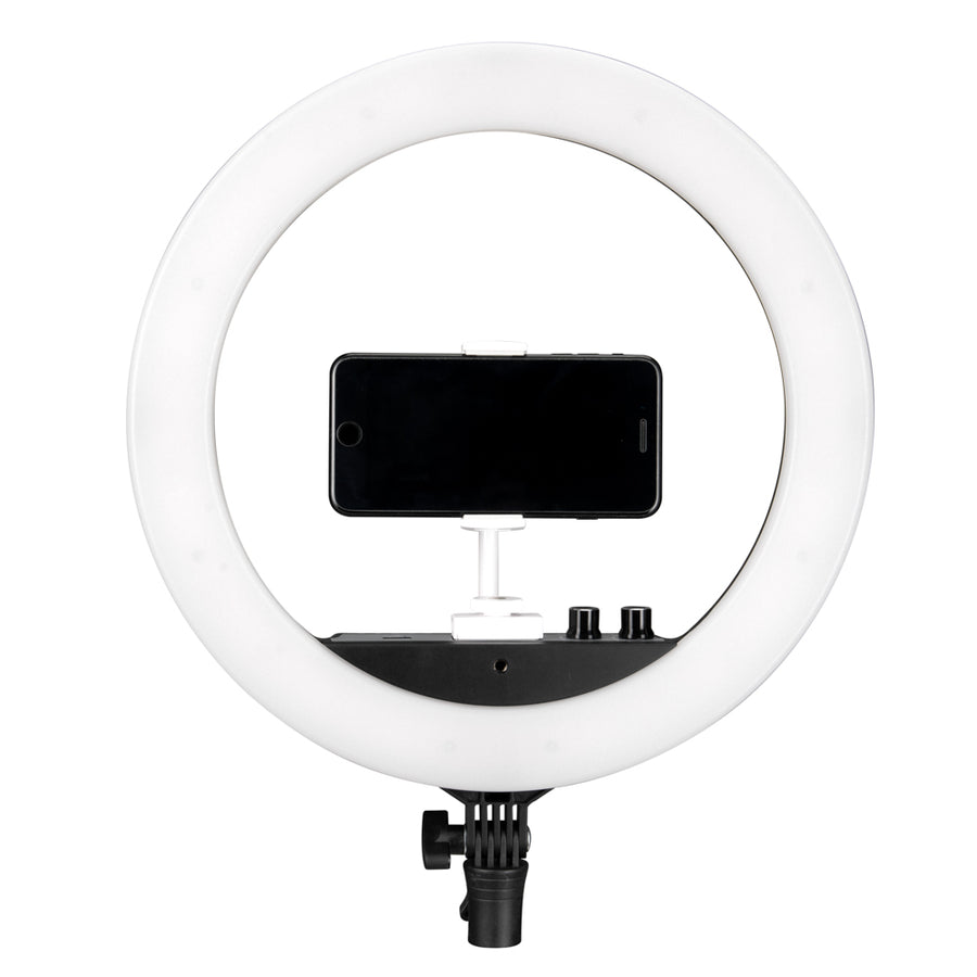 Nanlite Halo 14 Dimmable Adjustable Bicolor 14in LED Ring Light