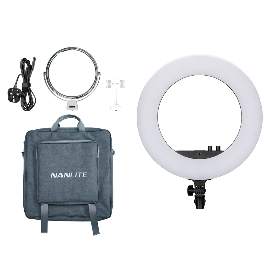 Nanlite Halo 18  Dimmable Adjustable Bicolor 18in LED Ring Light
