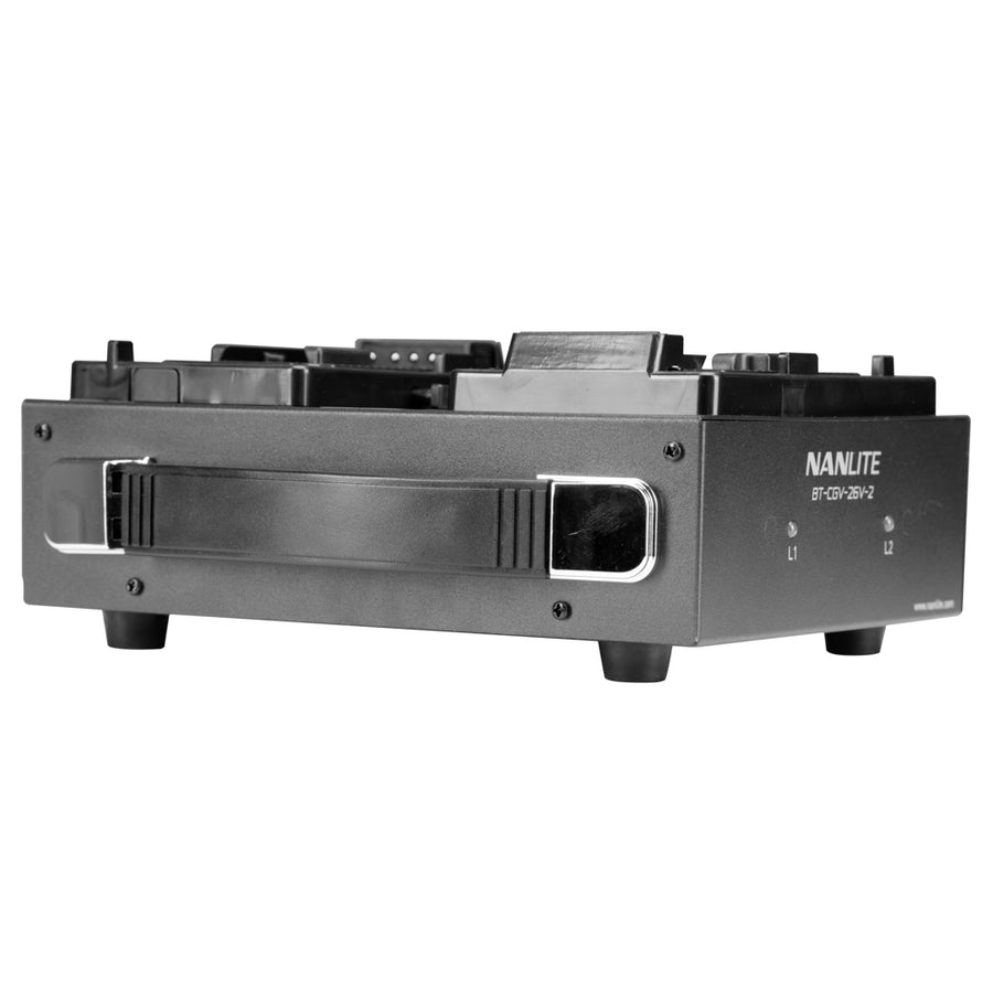 Nanlite Dual 26V V-Mount Battery Deck Charger