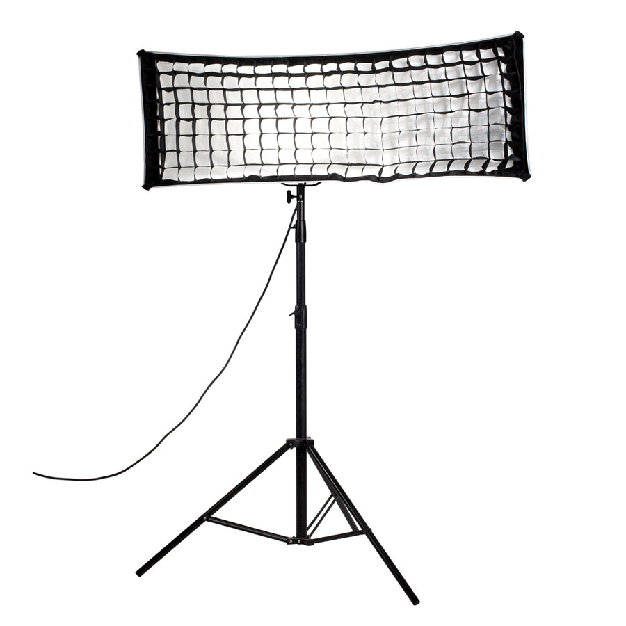Nanlite Fabric Grid for Asymmetrical Stripbank Softbox (18x43in)