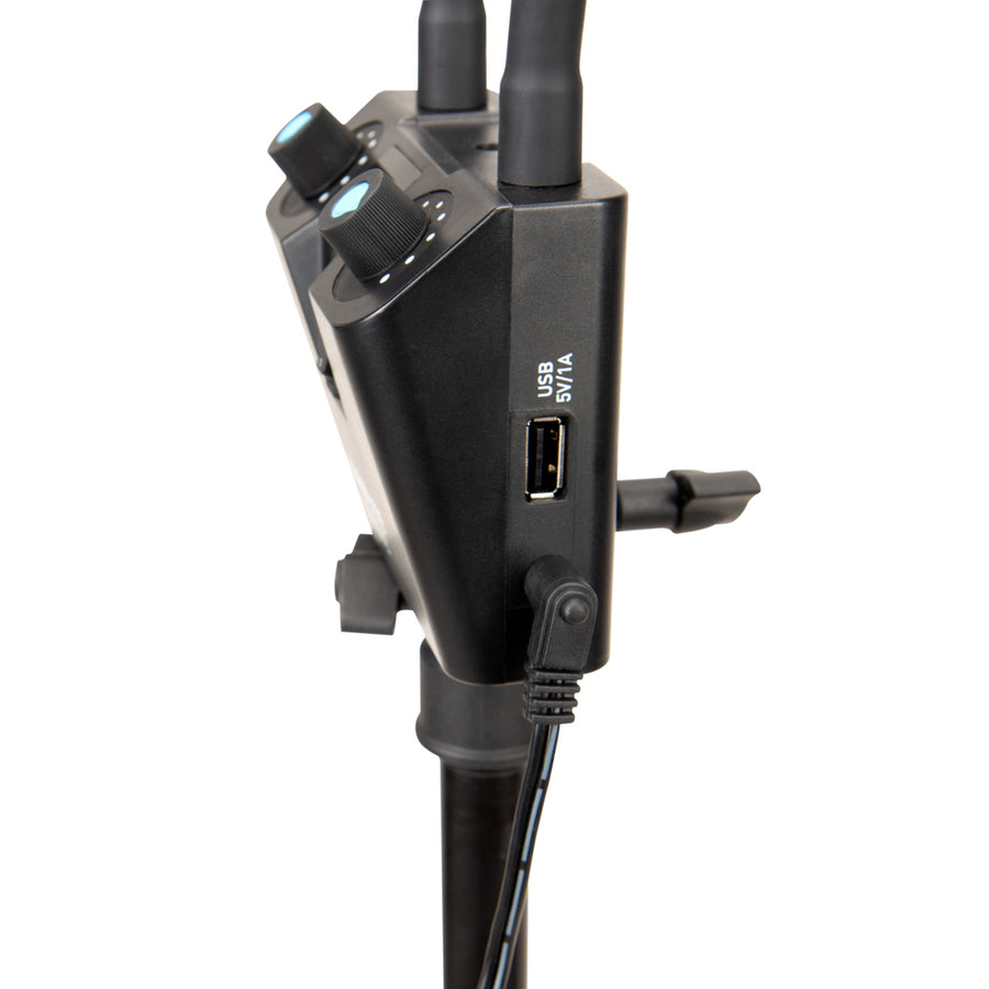 Nanlite Mira 26B Dual Flex Arm Beauty Light with USB Power Passthrough and Light Stand