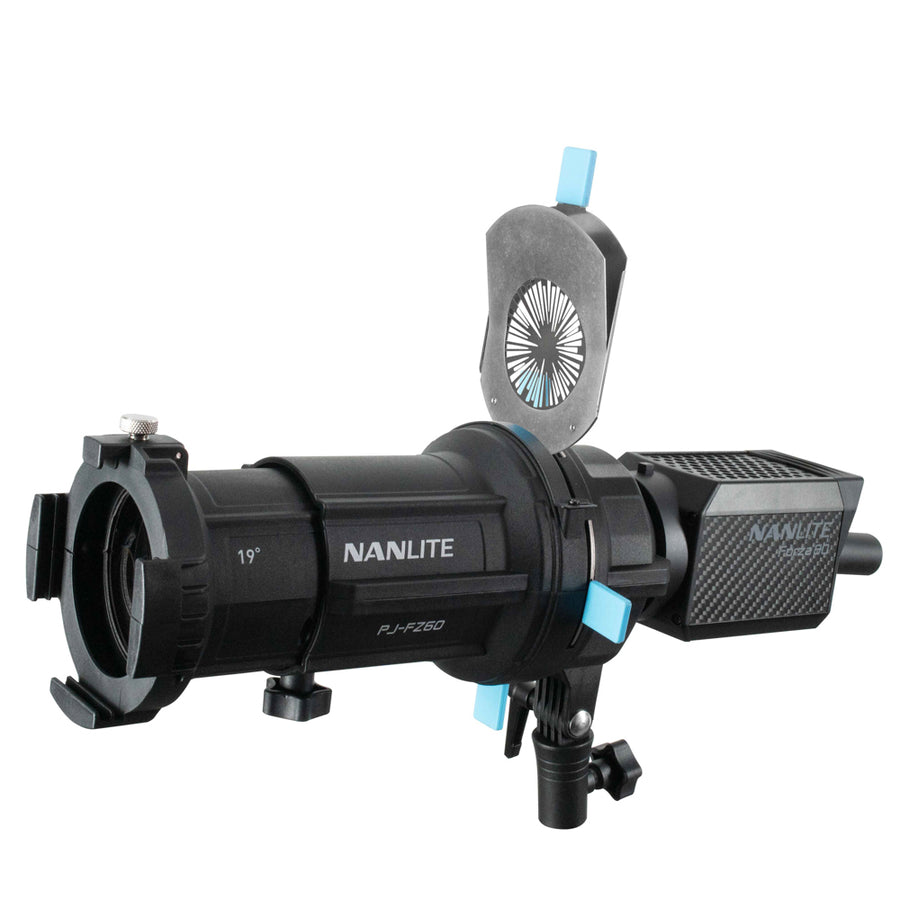 Nanlite Forza 60/60B Projector Mount with 19° Lens